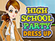 High School Party Dressup