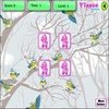 Colorful Birds Memory Game