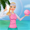 Girl Beach Volleyball